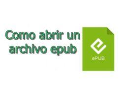 archivo epub