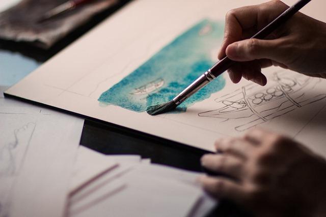pintar con pinturas acrílicas
