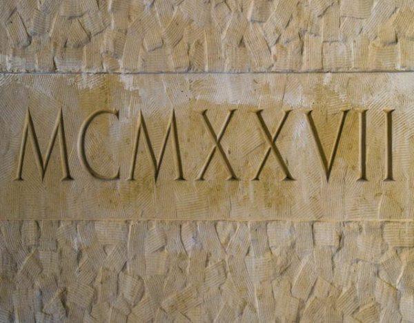números romanos del 1 al 10000