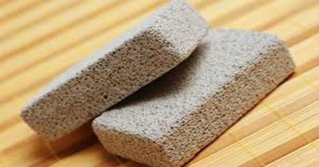 usar la piedra pómez