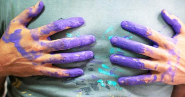 quitar manchas de pintura
