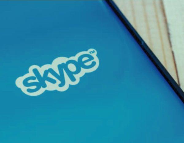 contactos a Skype
