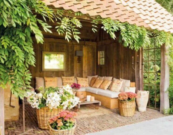 decorar un porche