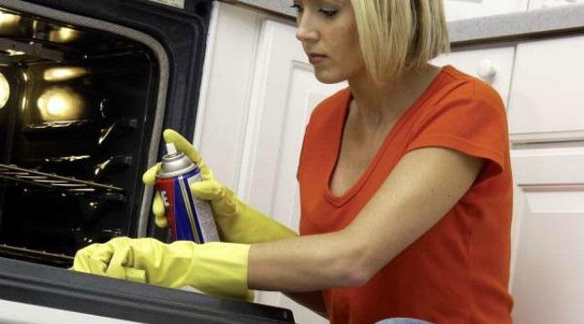 desinfectar el horno