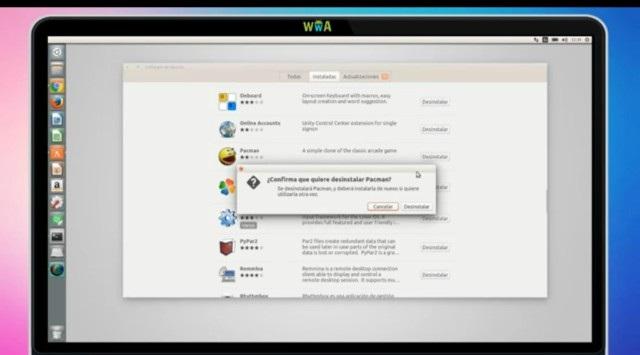 desinstalar programas en Ubuntu