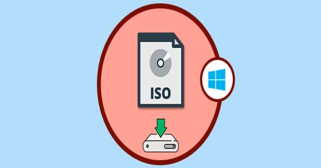 montar una imagen ISO