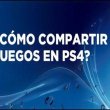 compartir juegos en PSN