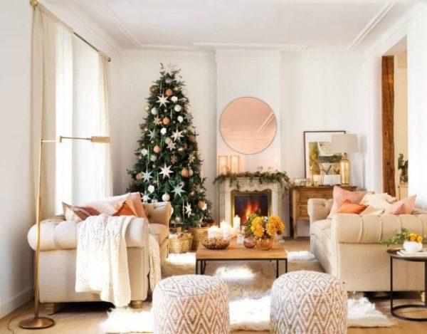 adornar la casa en Navidad