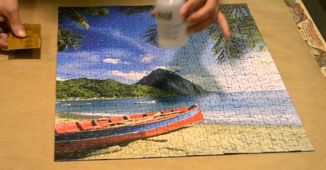 pegar un puzzle