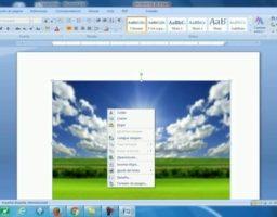 Cómo insertar una imagen de fondo en Word