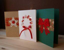 hacer tarjetas de navidad