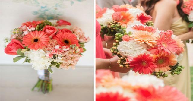 flores para una boda