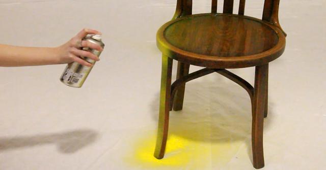 pintar sillas de madera