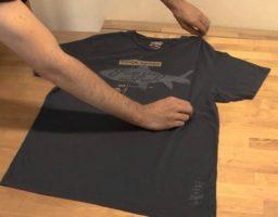 doblar camisetas fácil