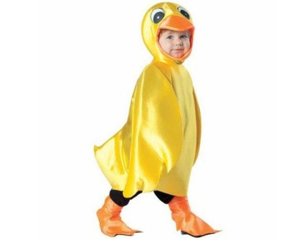 disfraz de pato