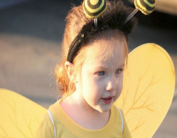hacer un disfraz de abeja