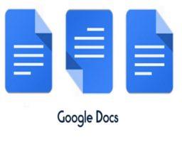 tabla en documentos de Google