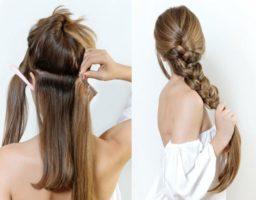 poner extensiones de pelo