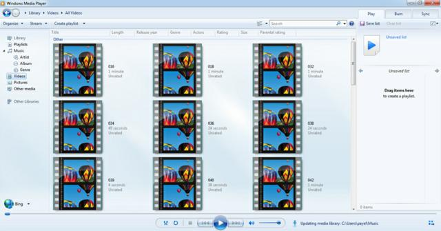 reproducir archivos VOB