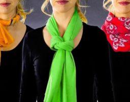 ponerse una bufanda