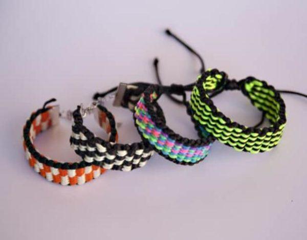 pulseras de Kumihimo