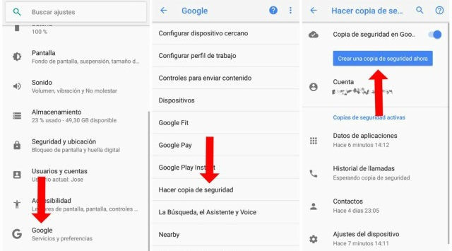 Google en Android