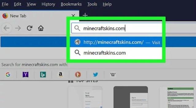 cambiar el skin Minecraft
