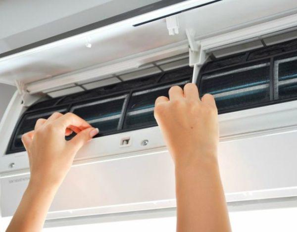 limpiar el aire acondicionado