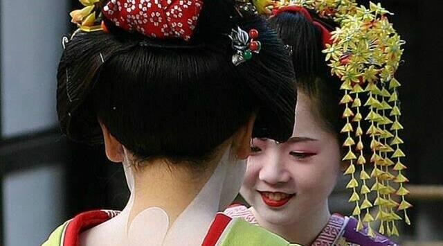 maquillarte como una Geisha