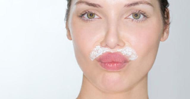 eliminar el vello del bigote