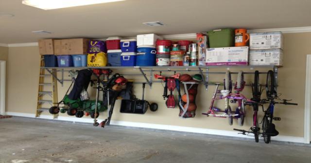 estanterías para el garaje