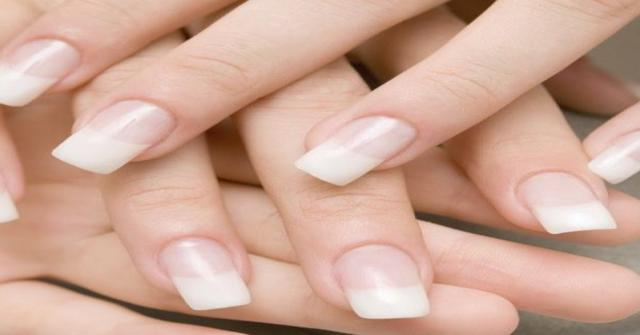 uñas acrílicas sin daños