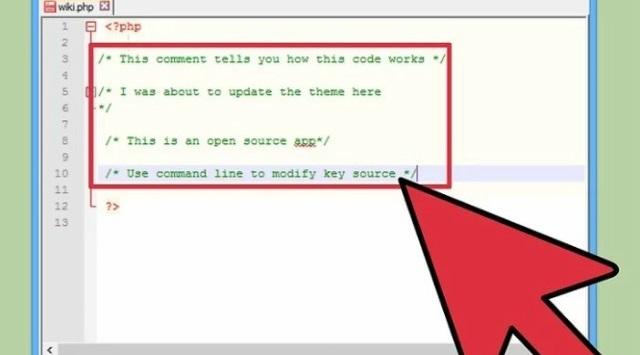 añadir comentarios en PHP