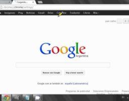 cambiar el idioma en Google