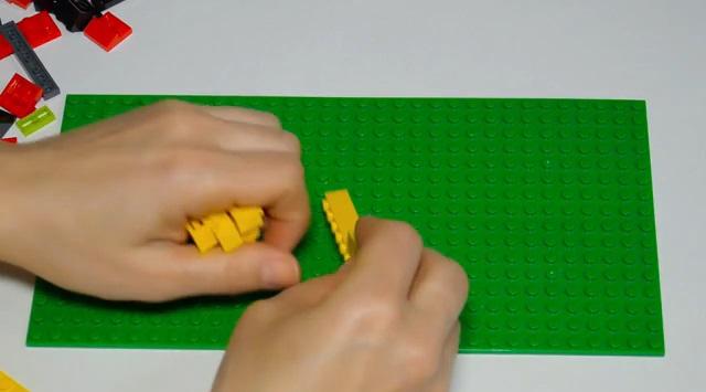 construir una casa de Lego