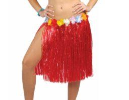 hacer un falda hawaiana