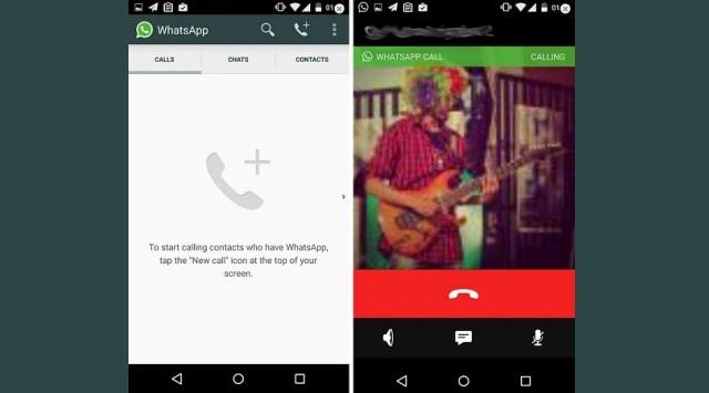 llamada por WhatsApp