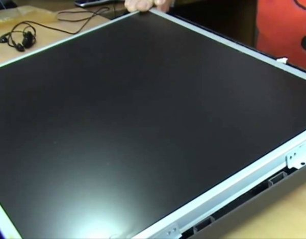 reparar una pantalla de LCD