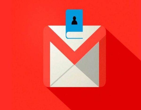 buscar contactos en Gmail