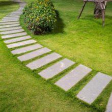 piedras de jardín para camino
