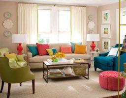 decorar una sala de estar pequeña