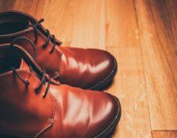 desinfectar unos zapatos usados