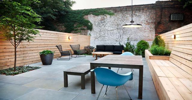 patios modernos