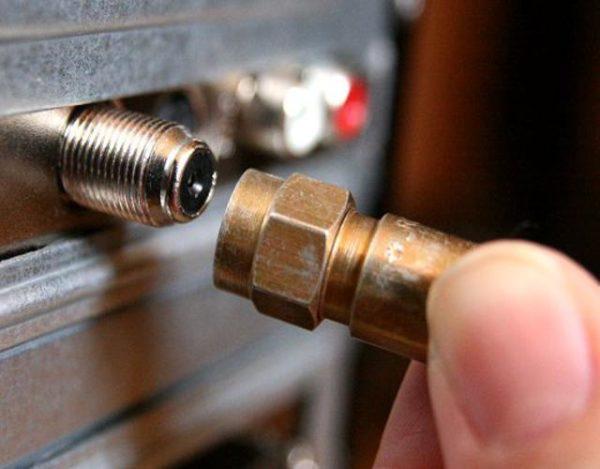 cable coaxial para TV