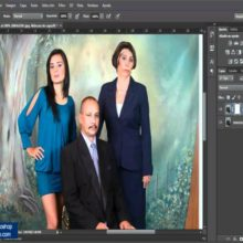 unir fotos en photoshop