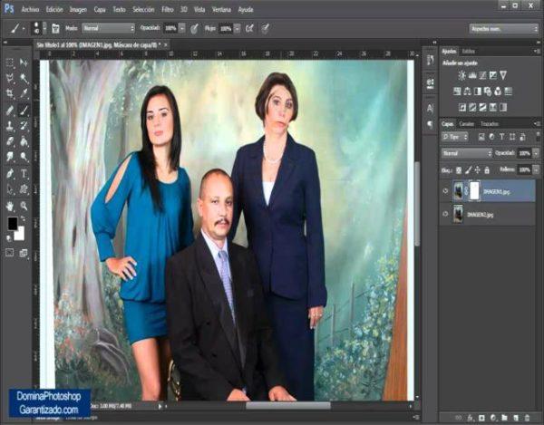 unir fotos en photoshop