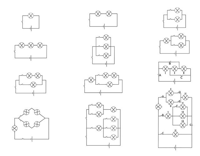 circuitos en Paralelo y en Serie
